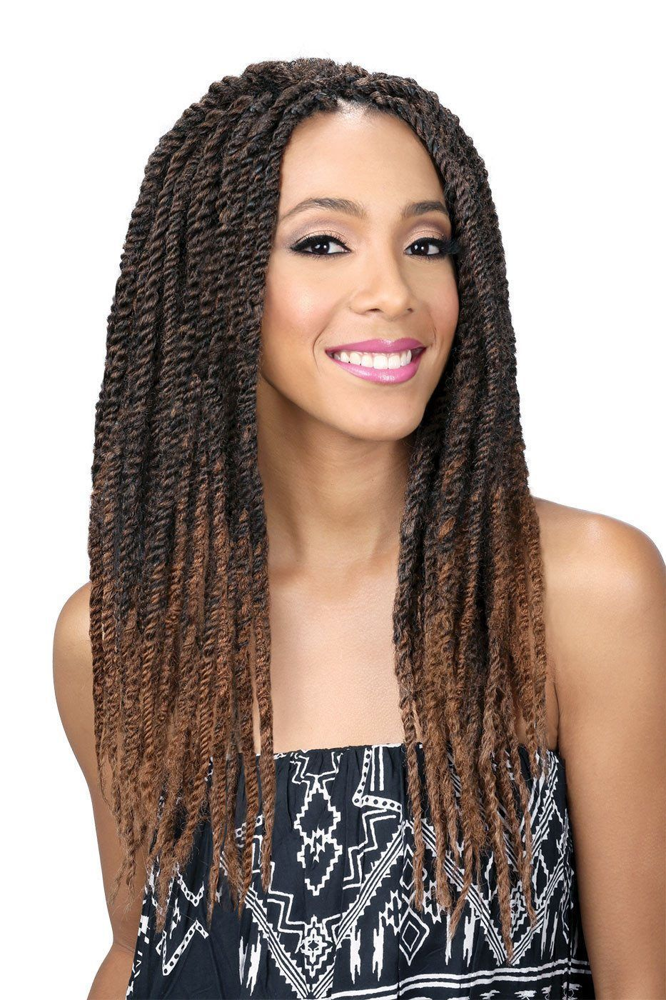 Layered Braids Hairstyles Bobbi Boss African Roots Braid Collection Jamaica Rasta Braid Up