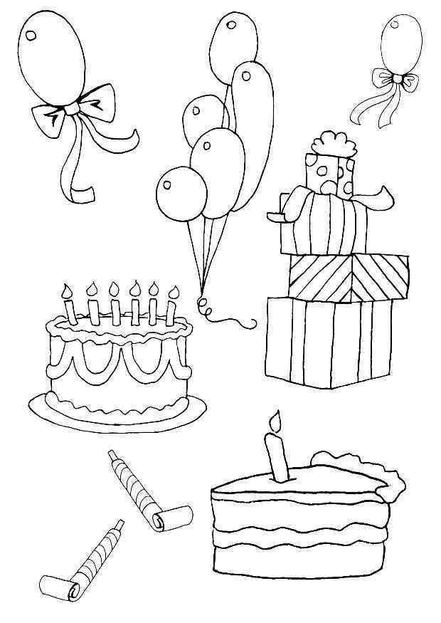Geburtstag 2 Ausmalbilder Coloring pages, Coloring pages