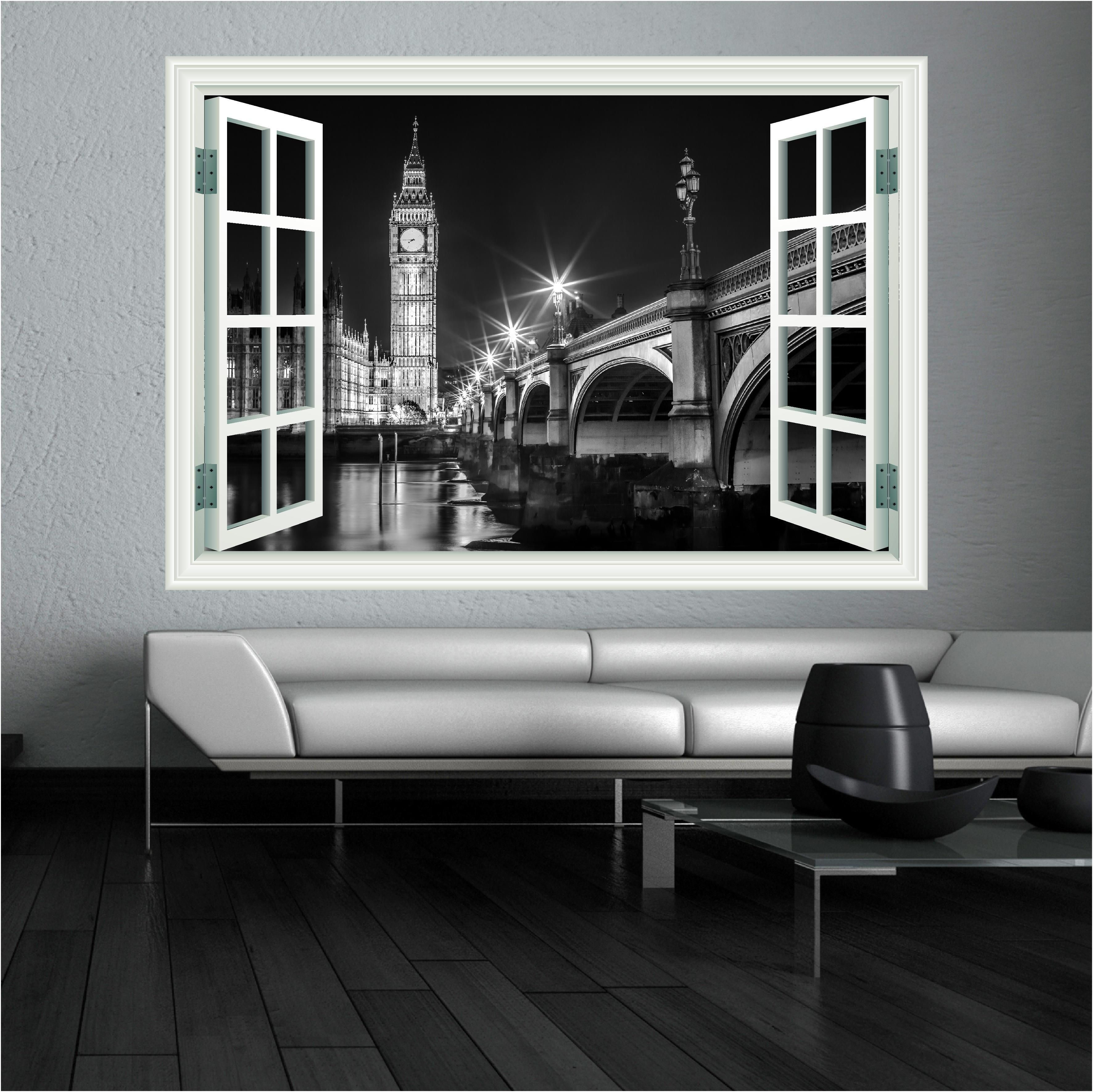big ben london landscape wall art sticker http www wallsticker art