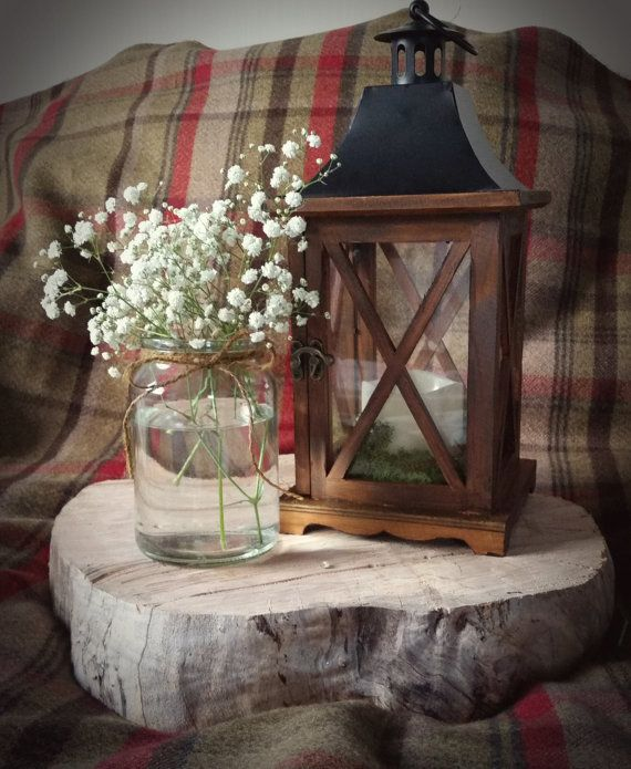 Rustic Lantern by Foxover on Etsy