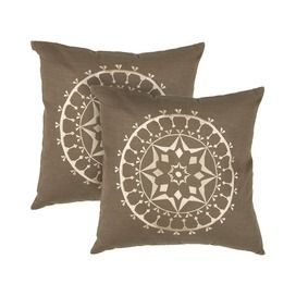 Cathedral Rosette Pillow Cover - Set of 2