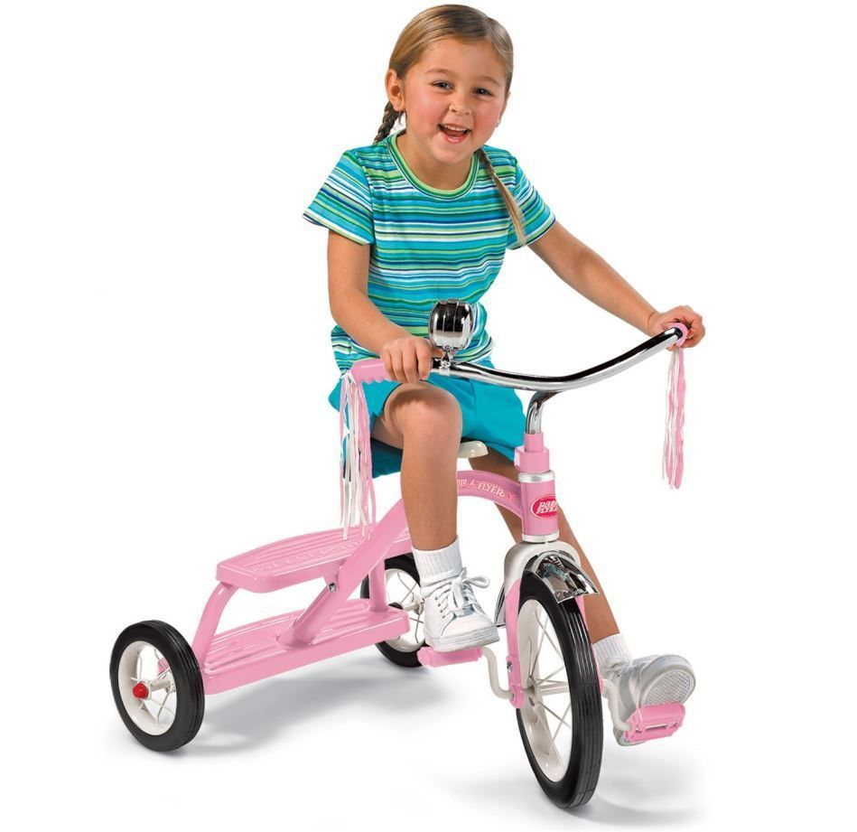 Tricycles For 3 Year Olds Toddlers Radio Flyer Tricycle 12 In Pink