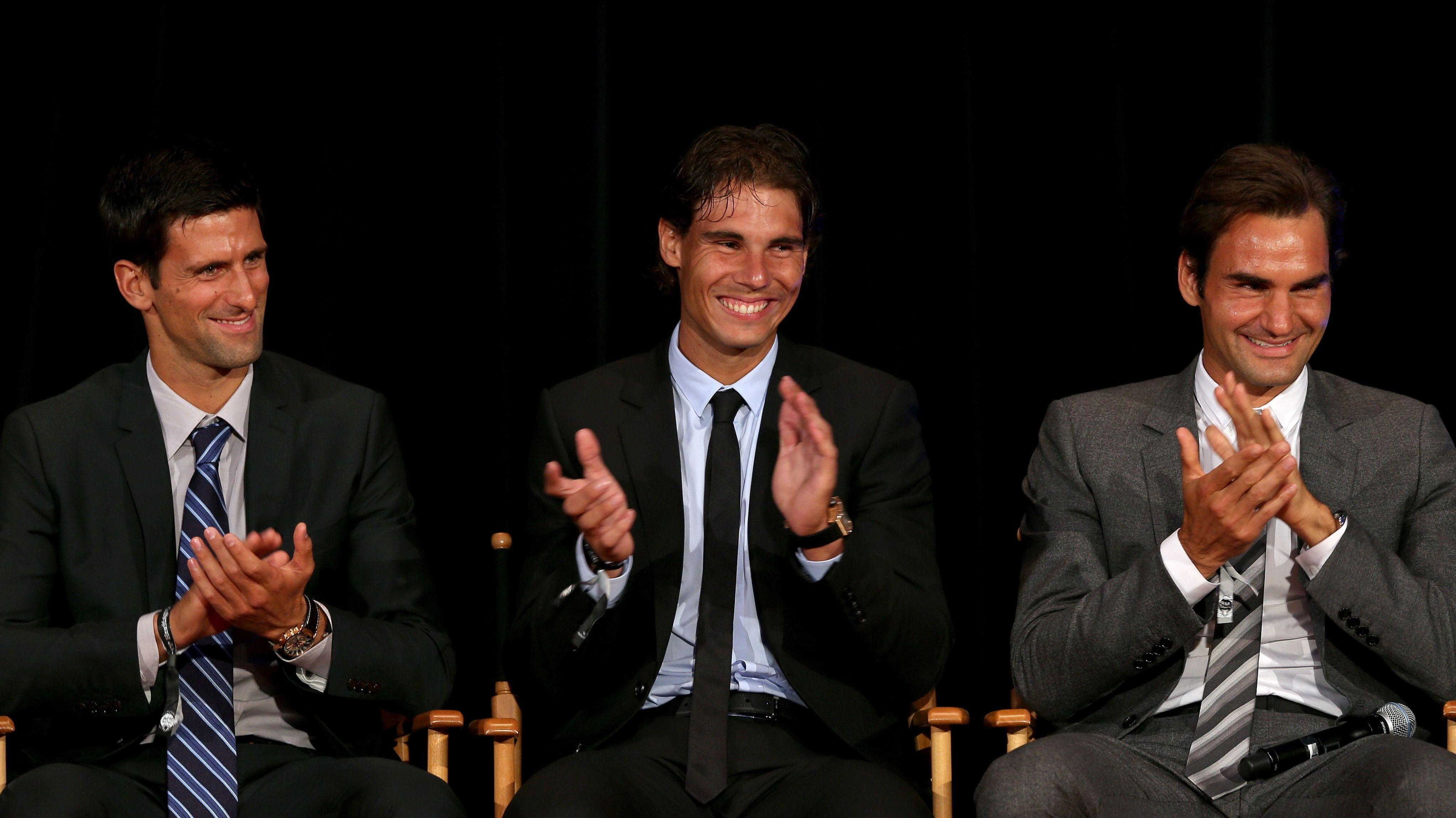 Nadal Vs Djokovic Australian Open Final Has Goat Implications Sports Illustrated Nadal Vs Djokovic Australian O Federer Nadal Roger Federer Novak Djokovic