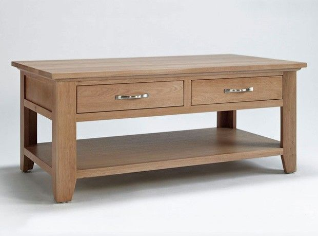 Cotswold Oak Coffee Table With Drawer Http Www Solidoakfurniture Co Uk Ranges Html
