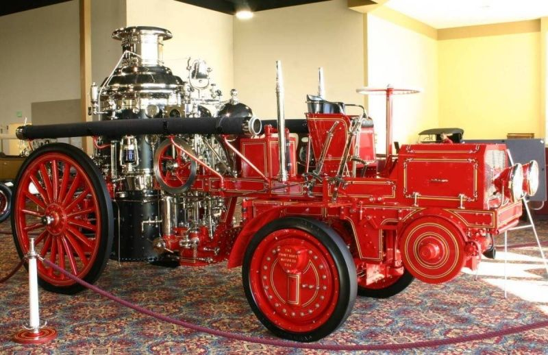 1913 Christie Steam Pumper Fire Engine An Art In Practical Use