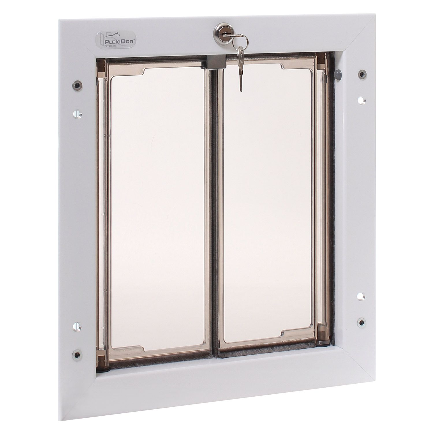 Plexidor Door Mount Pet In White Available At Petco
