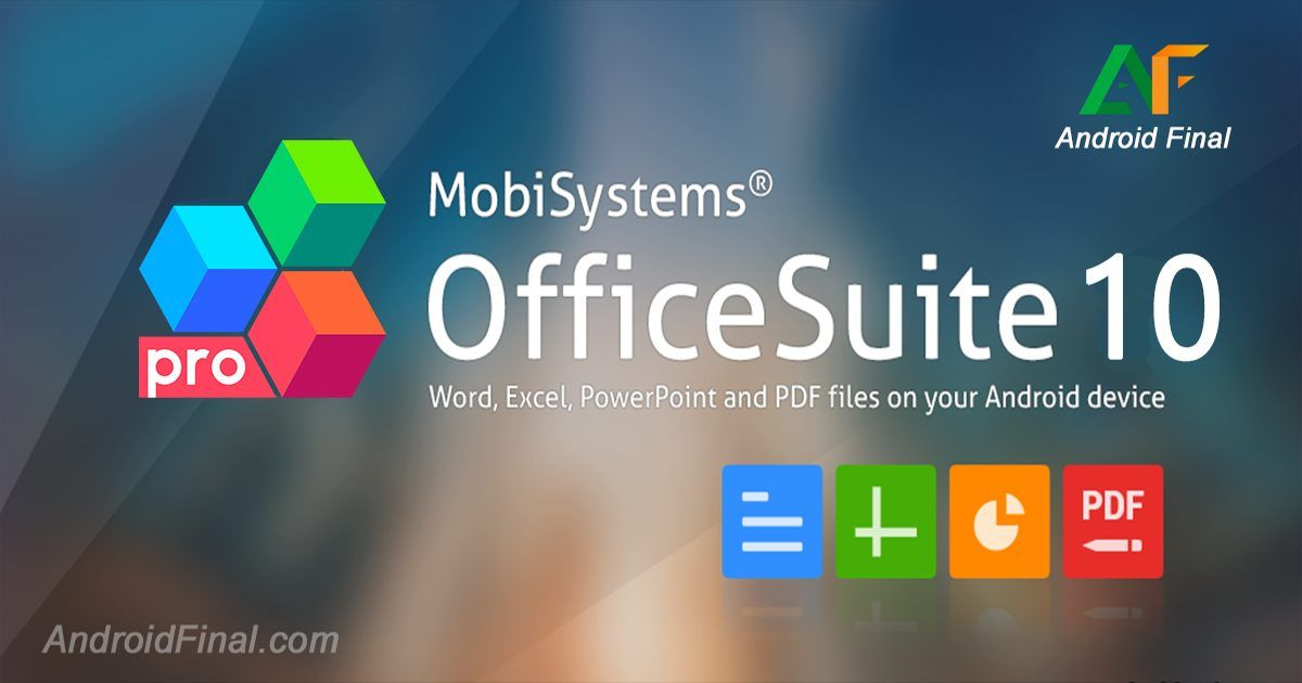 Download OfficeSuite PRO + PDF v10.14.25686 - Download APK ...