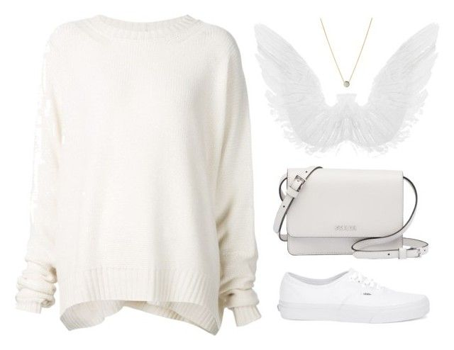 """""""It's too cold outside for angels to fly"""" by safw1 ❤ liked on Polyvore featuring URBAN ZEN, Vans, Prada and Links of London"""