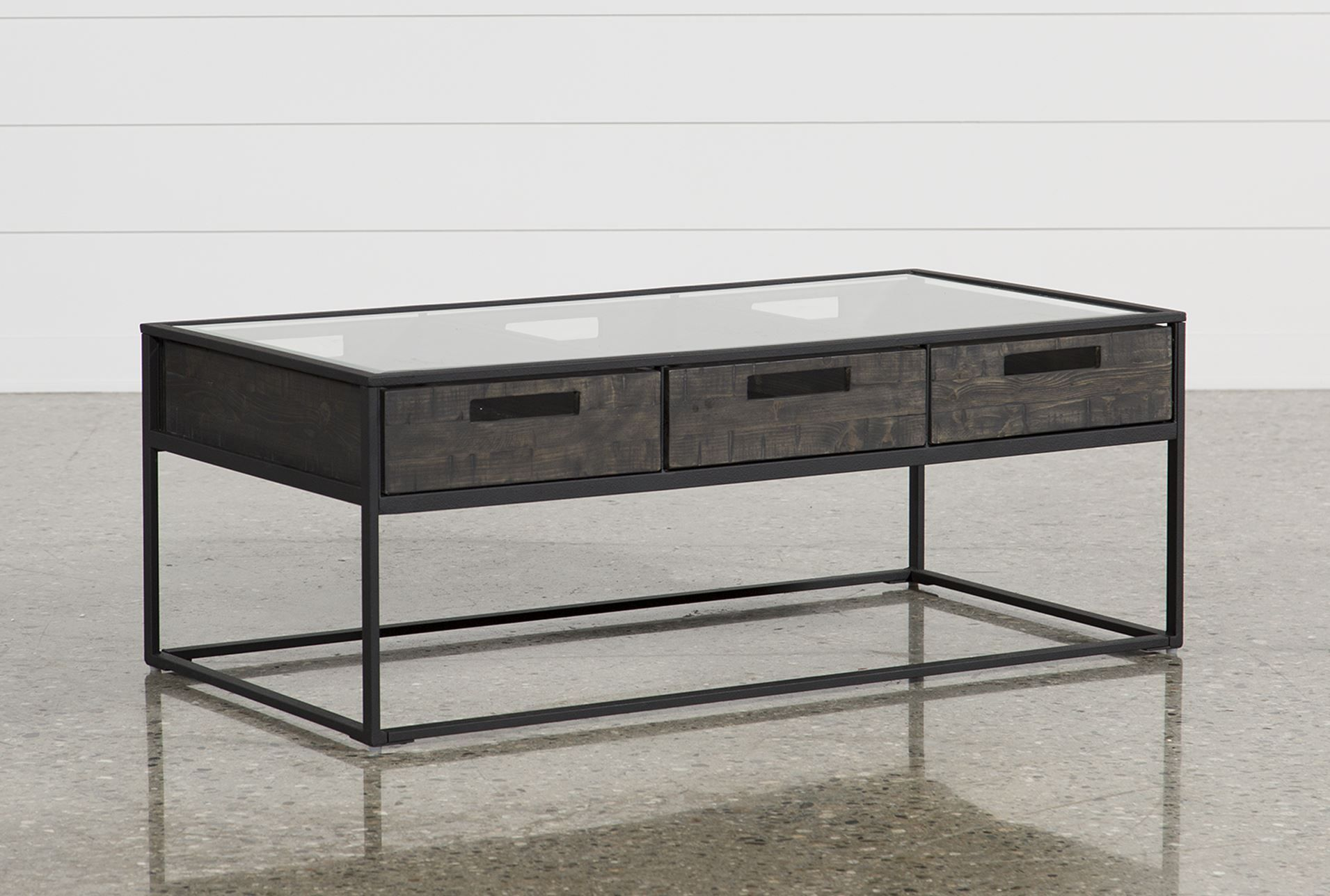 Anson Coffee Table Coffee Table Small Space Coffee Table Iron Coffee Table