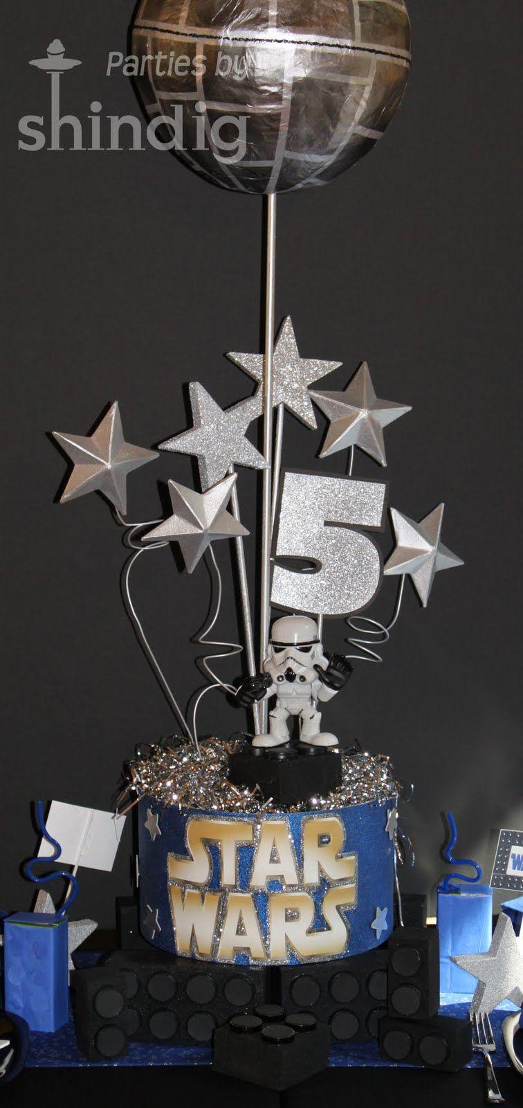 star wars table decorations star wars party details. Black Bedroom Furniture Sets. Home Design Ideas