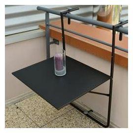 Table De Balcon Suspendue Noire - Oogarden | Table pliante ...