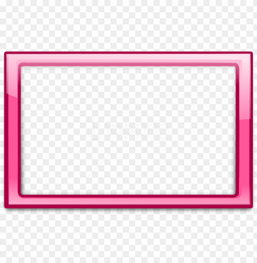 Free Png Pink Border Frame 6 Png Pink Border Frame Png Image With Transparent Background Png Free Png Images Png Images Free Png Frame