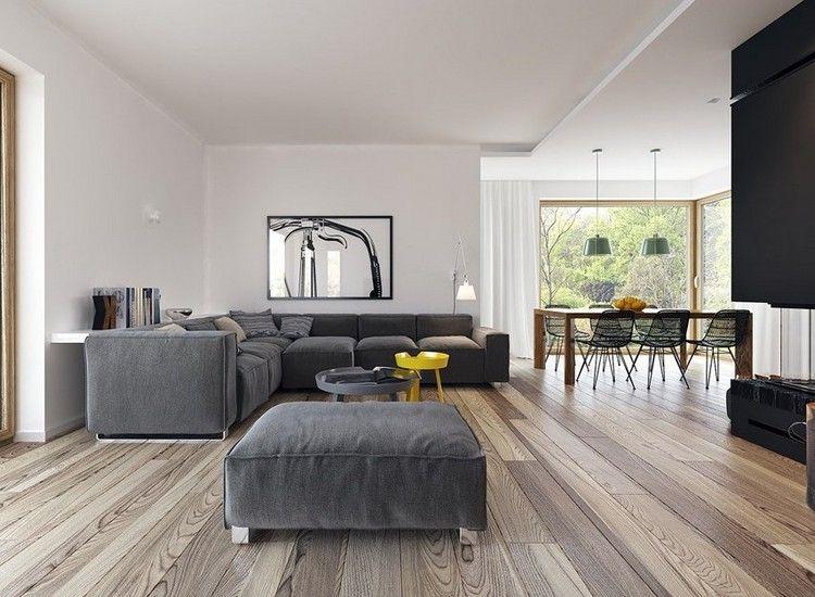 Modernes Graues Sofa 55 Winkelmodelle Oder Rechte In Den Dunklen