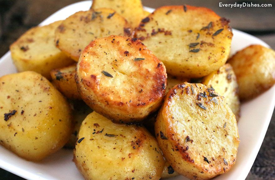 Quick And Easy Melting Potatoes Recipe Melting Potatoes Recipe Recipes Easy Potato Recipes