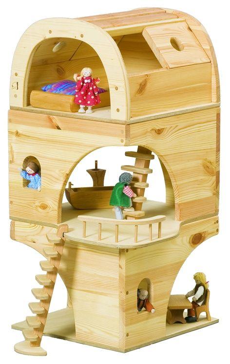 Maison de poupées Verneuer (pour les lutins et les elfes)