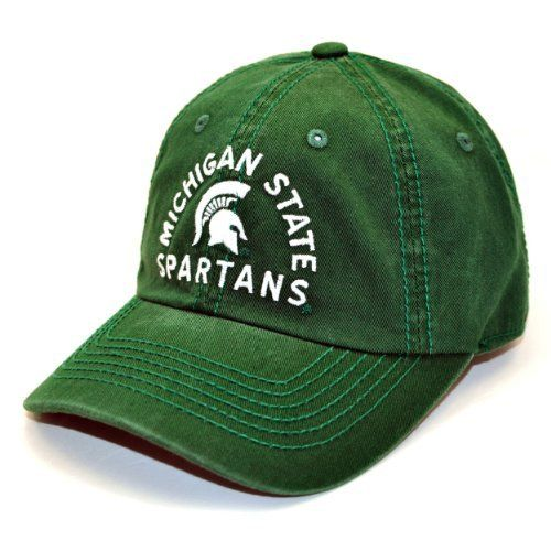 size 40 f1fb0 2308d NCAA Michigan State Spartans Fair Catch Adjustable Cap, Green, One Size by  Top of the World.  15.44. Save 14% Off!