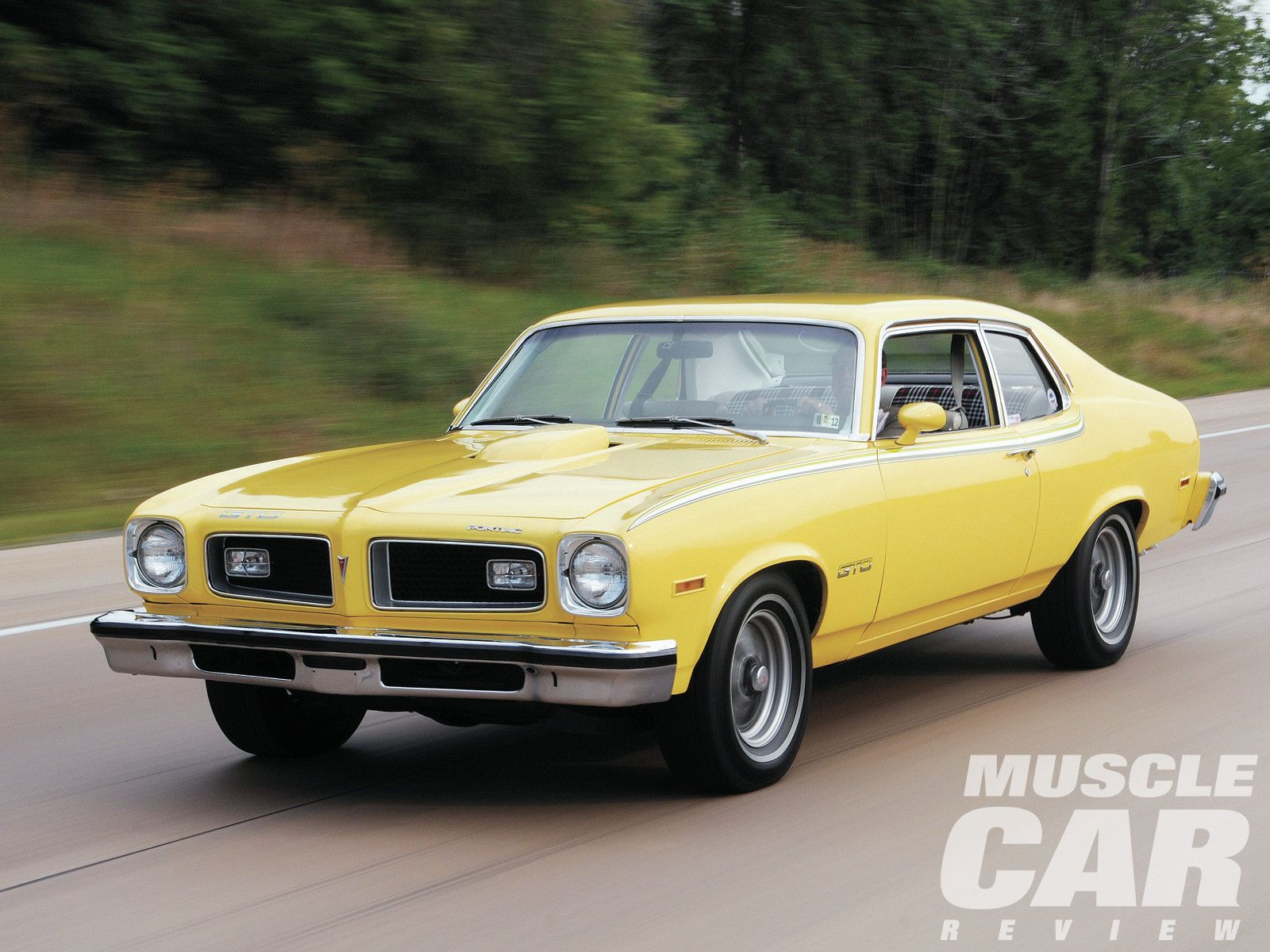 1974 Pontiac GTO code 51 Sunstorm Yellow