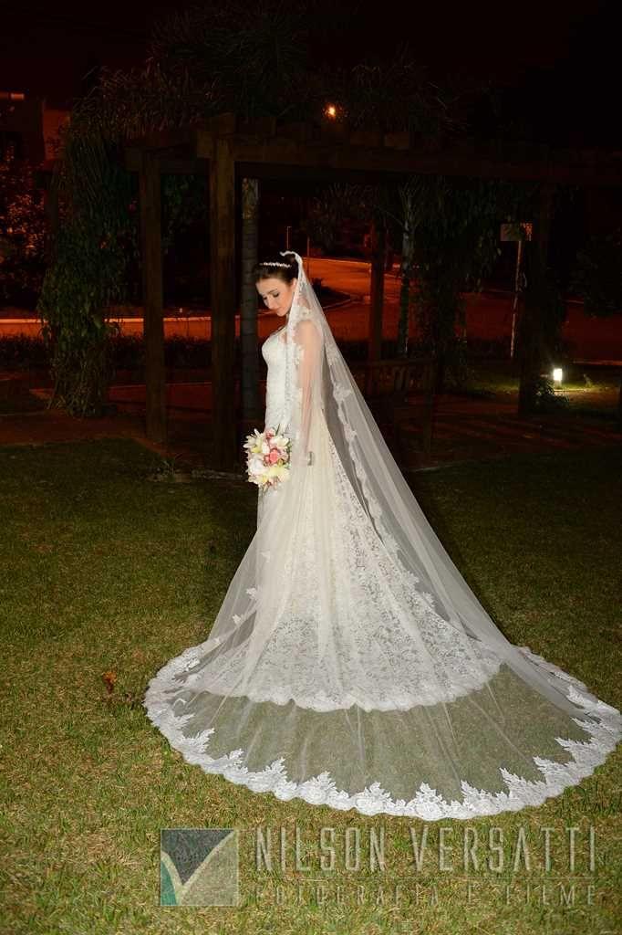 Linda Raquel Holler!  Foto por @nilsonversatti, Wedding Dress #AtelierCarlaGaspar.