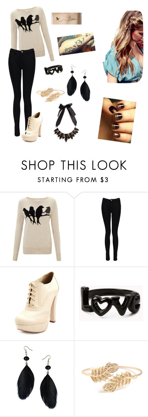 """""""Breaking Free"""" by arrianamarie ❤ liked on Polyvore featuring Monsoon, Boohoo, Charlotte Russe, Forever 21, Dorothy Perkins and MANGO"""