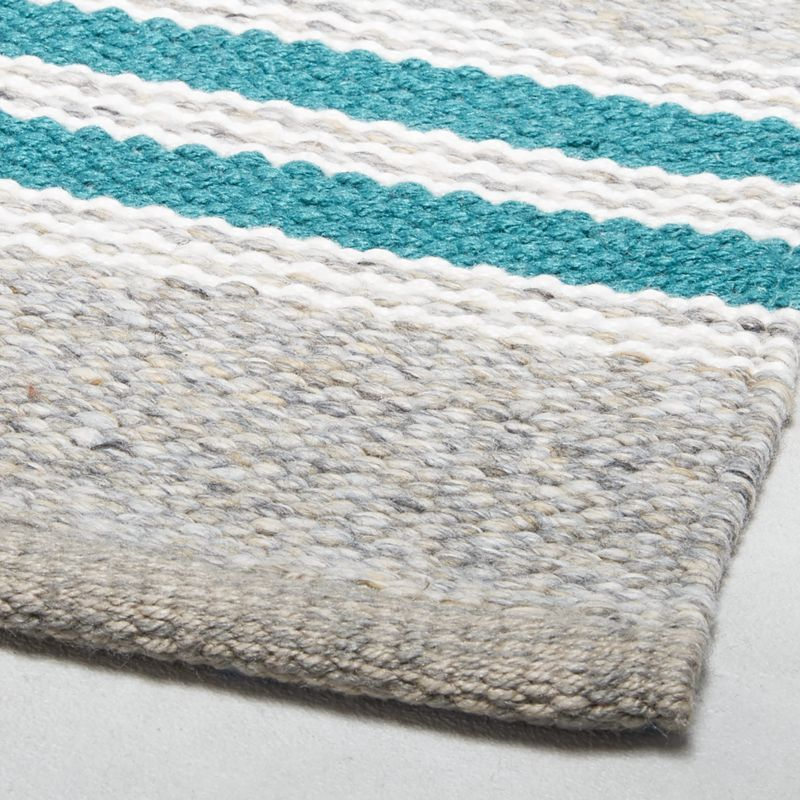 Espen Teal Indoor Outdoor Rug 2 X3 Crate And Barrel Espen Teal Indoor Outdoor Rug 2 X3 2x3 Barrel C In 2020 Crate And Barrel Rugs Indoor Outdoor Rugs Rugs