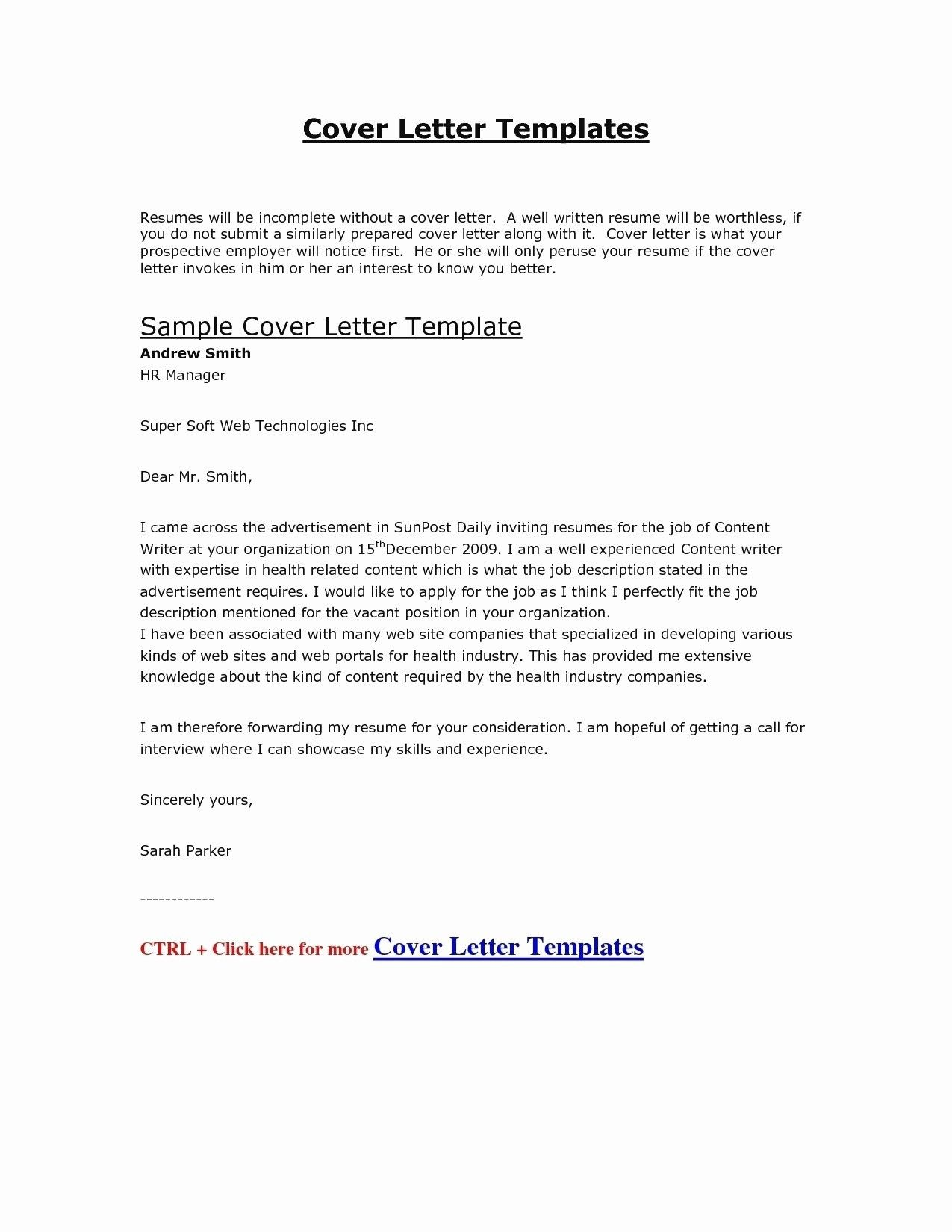 Pin by Waldwert Site on Resume Formats | Job cover letter ...