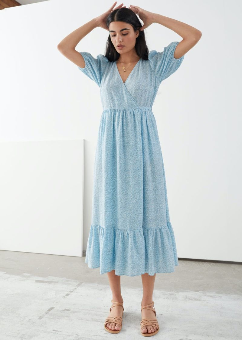 Wrap T Shirt Dress In Triblend Jersey Gap Womens Dresses Clothes For Women Attractive Dresses [ 2000 x 1500 Pixel ]