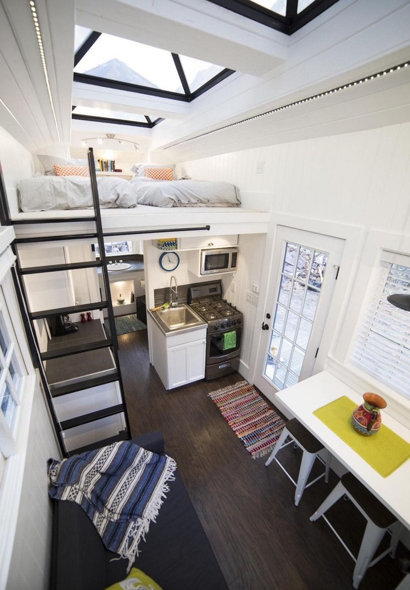 Couple\'s 192 Sq. Ft. Tiny House on Wheels in Sandy, Utah | Tiny ...