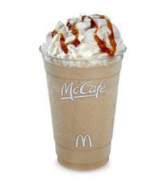 Copycat Recipes: McDonald's Caramel Frappe #ketofrappucinostarbucks