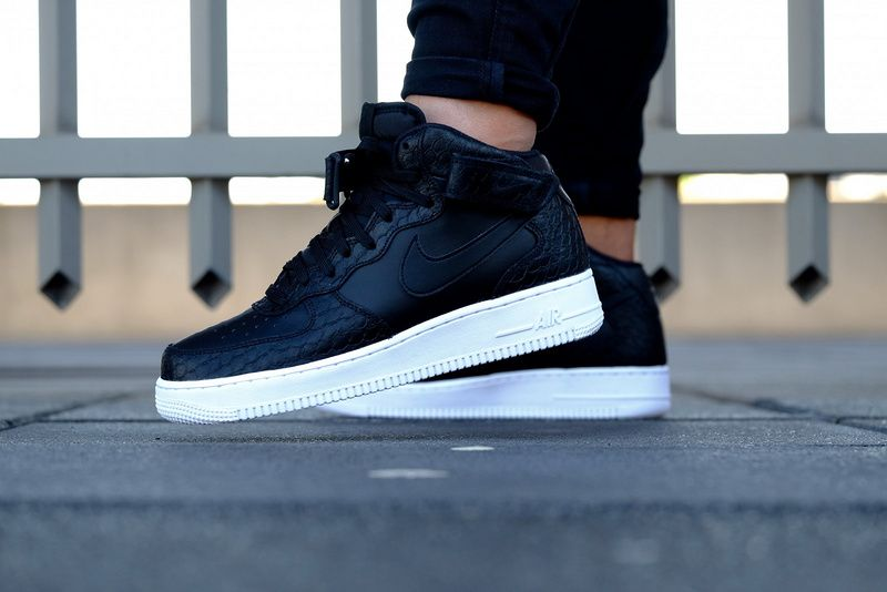 Nike Air Force 1 Men Black White | Zapatos, Calzas, Zapatillas