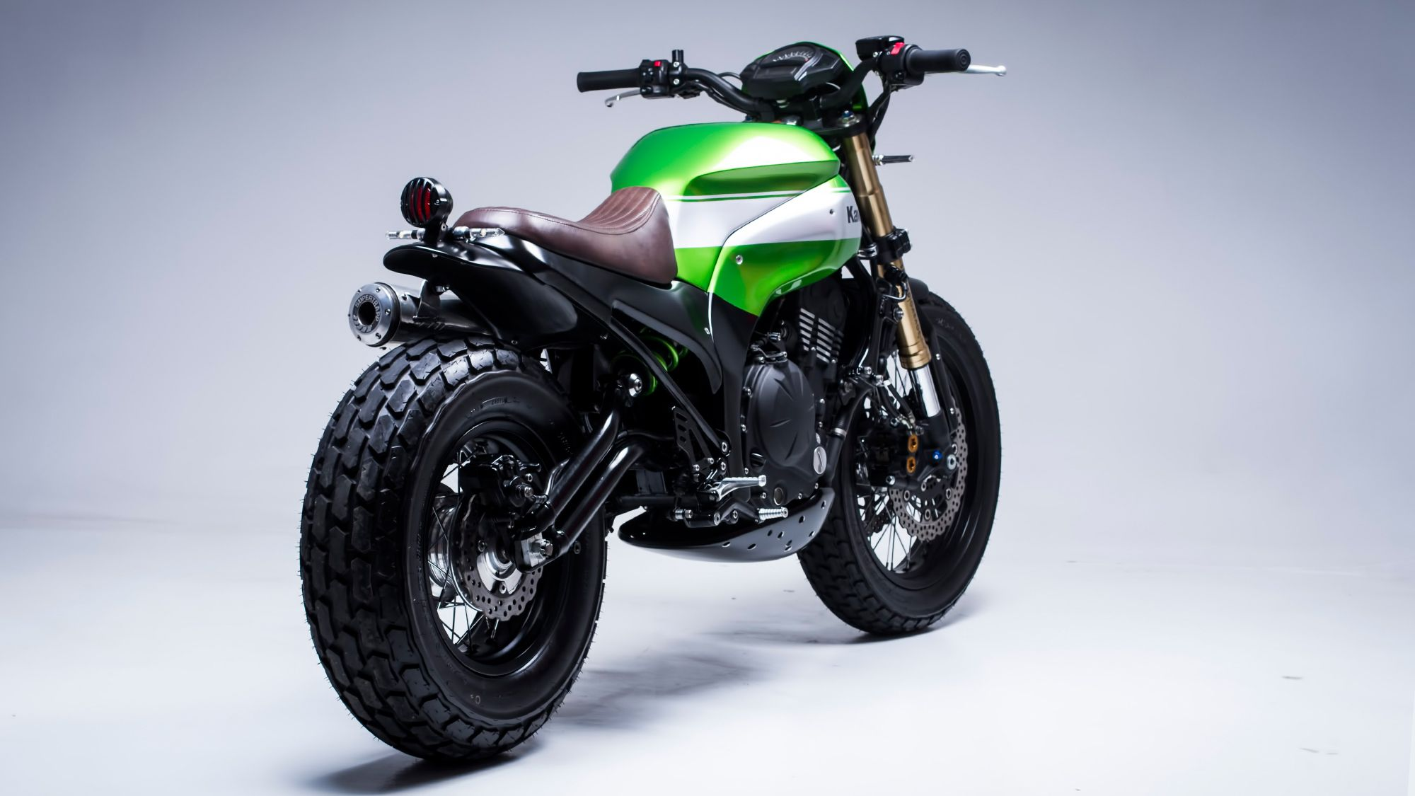 Kawasaki Er6 N La Twister De Smoked Garage Naked Bike
