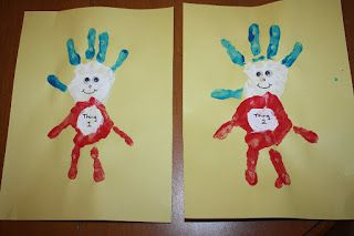 Thing 1 and Thing 2 Handprint Craft- Happy Birthday Dr. Seuss!! | momstown Barrie