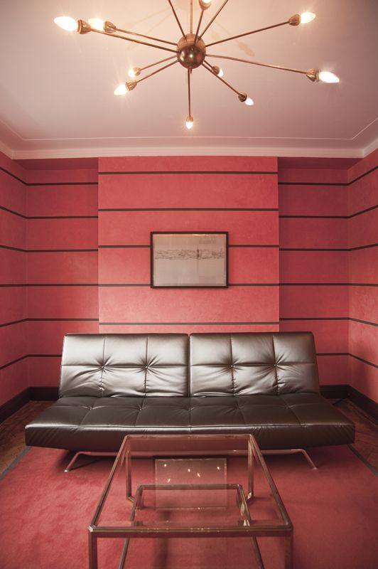 Back to the Future: An Art Deco House in London | Art deco colors ...