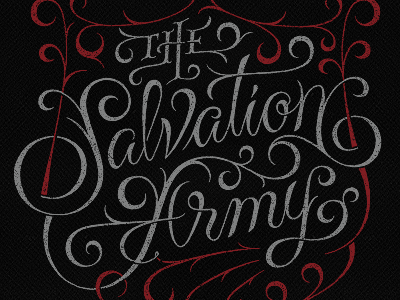 The Salvation Army Lettering, Typography, Inspirational