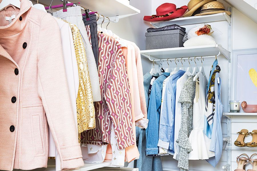 4 genius tips that will help get your closet under control