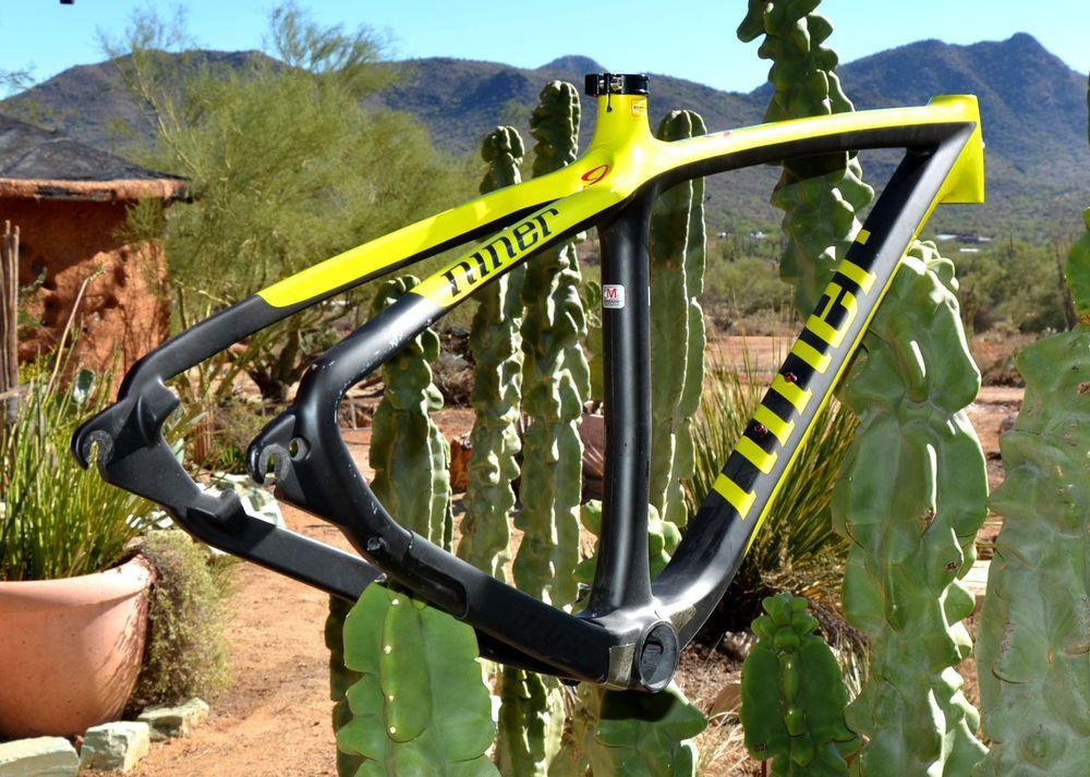Niner Air 9 RDO Carbon Mountain Bike Frame 29er Yellow/Black Medium ...