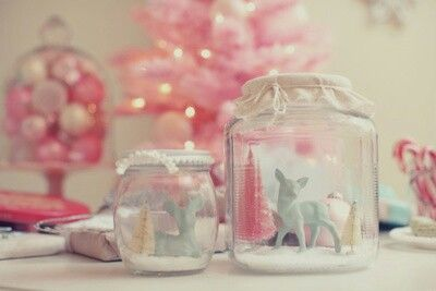 Pink things & jars