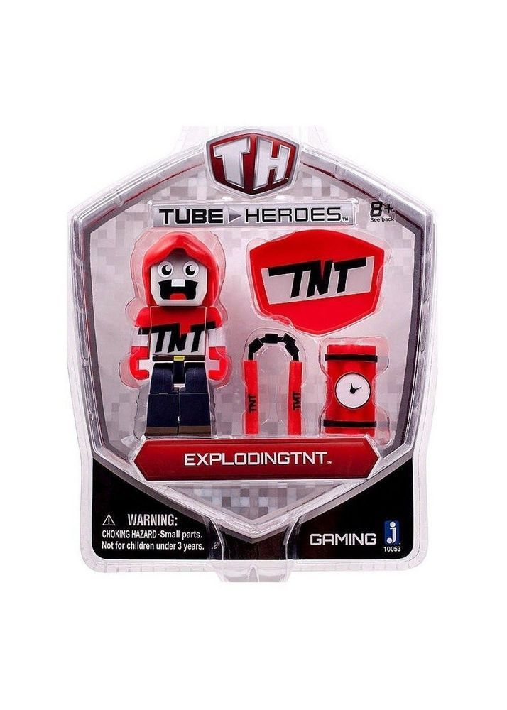 Tube Heroes - Explodingtnt w/ Accessories (2015) NIP