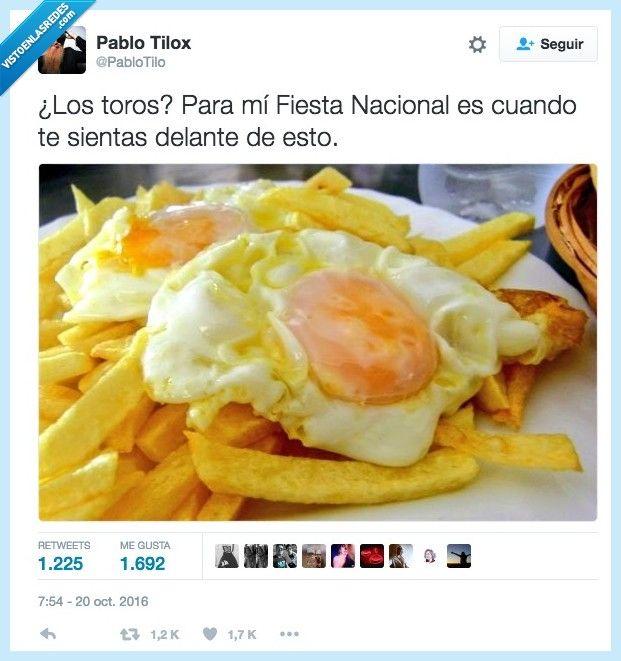 La verdadera fiesta nacional por @PabloTilo   Gracias a http://www.vistoenlasredes.com/   Si quieres leer la noticia completa visita: http://www.estoy-aburrido.com/la-verdadera-fiesta-nacional-por-pablotilo/
