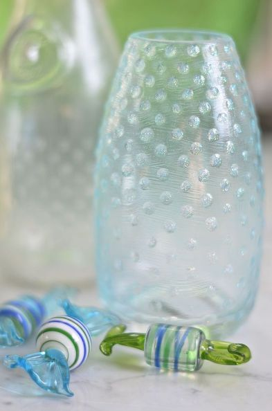 diy hobnail glass, crafts, diy, home decor, organizing, painting
