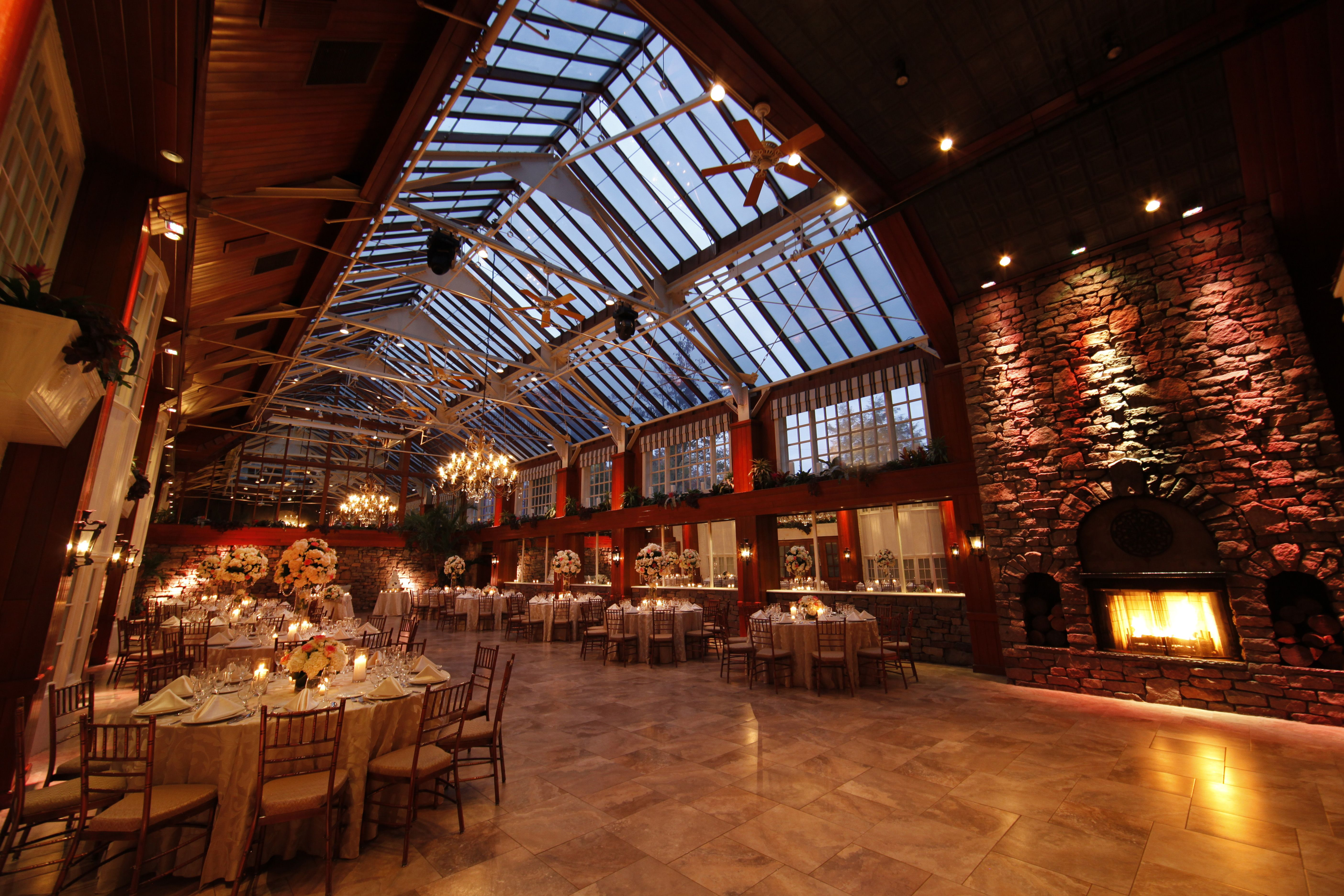 Winter Garden Pavillion At The Fox Hollow Is An Elegant Setting For Your Wedding Reception Or Special Event