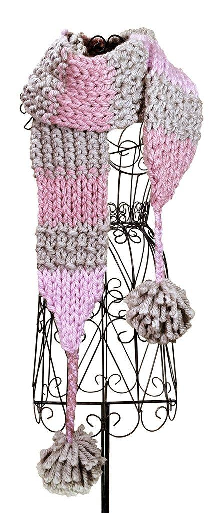 Sugar Spice Scarf Knitting Board Blog Loom Knitting