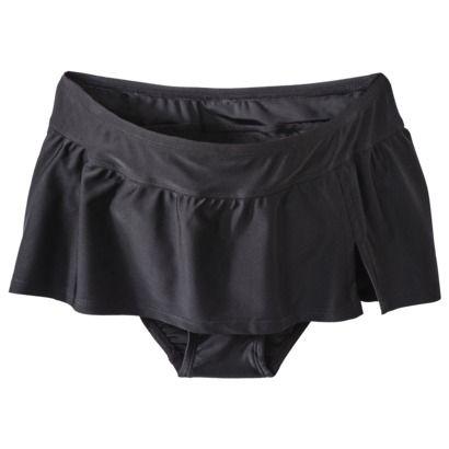 145d38b3c1 Target Liz Lange® for Target® Maternity Swim Skirted Bottom - Black ...