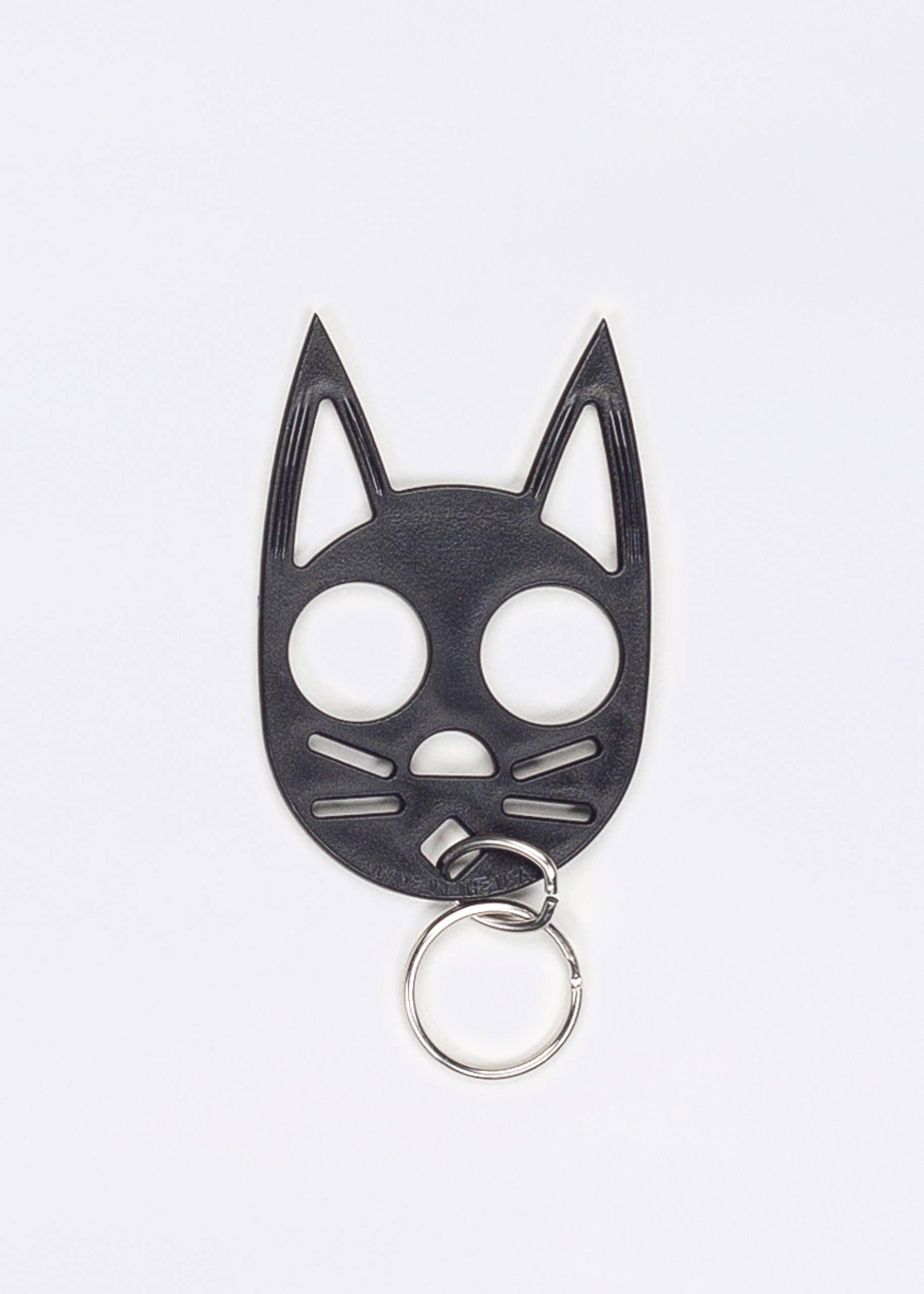 Self Defense Cat Keychain Cat self defense keychain, Cat