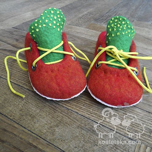 """Photo of Slippers """"Radіst"""" – Clothing and accessories from wool"""