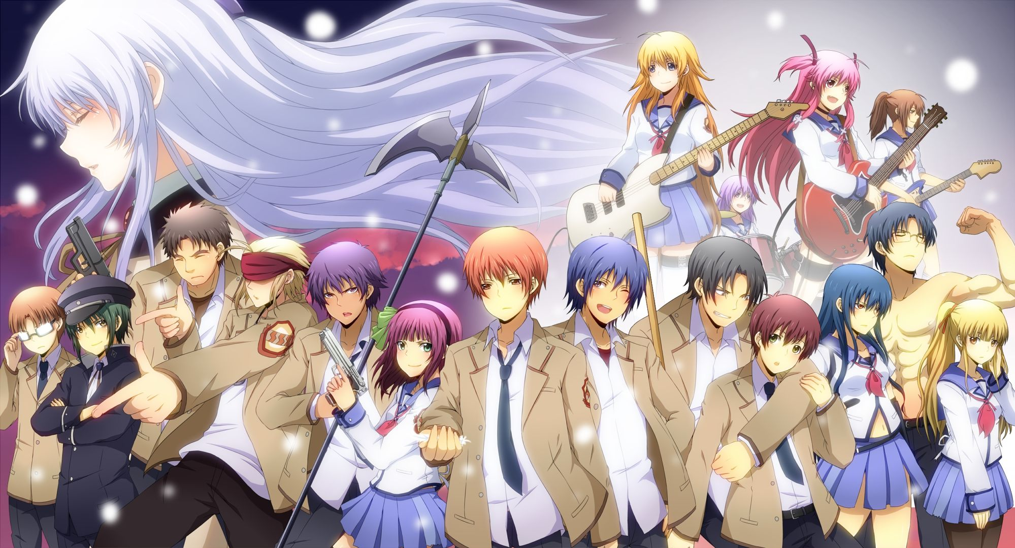 Wallpaper Angel Beats Angel Beats Anime Angel Beats Anime