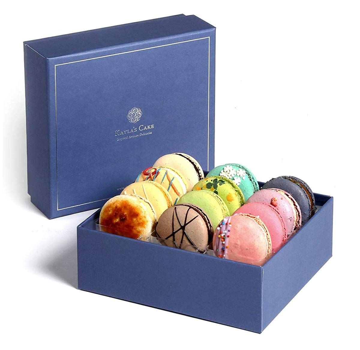 French macarons gourmet cookies fathers day chocolate gift