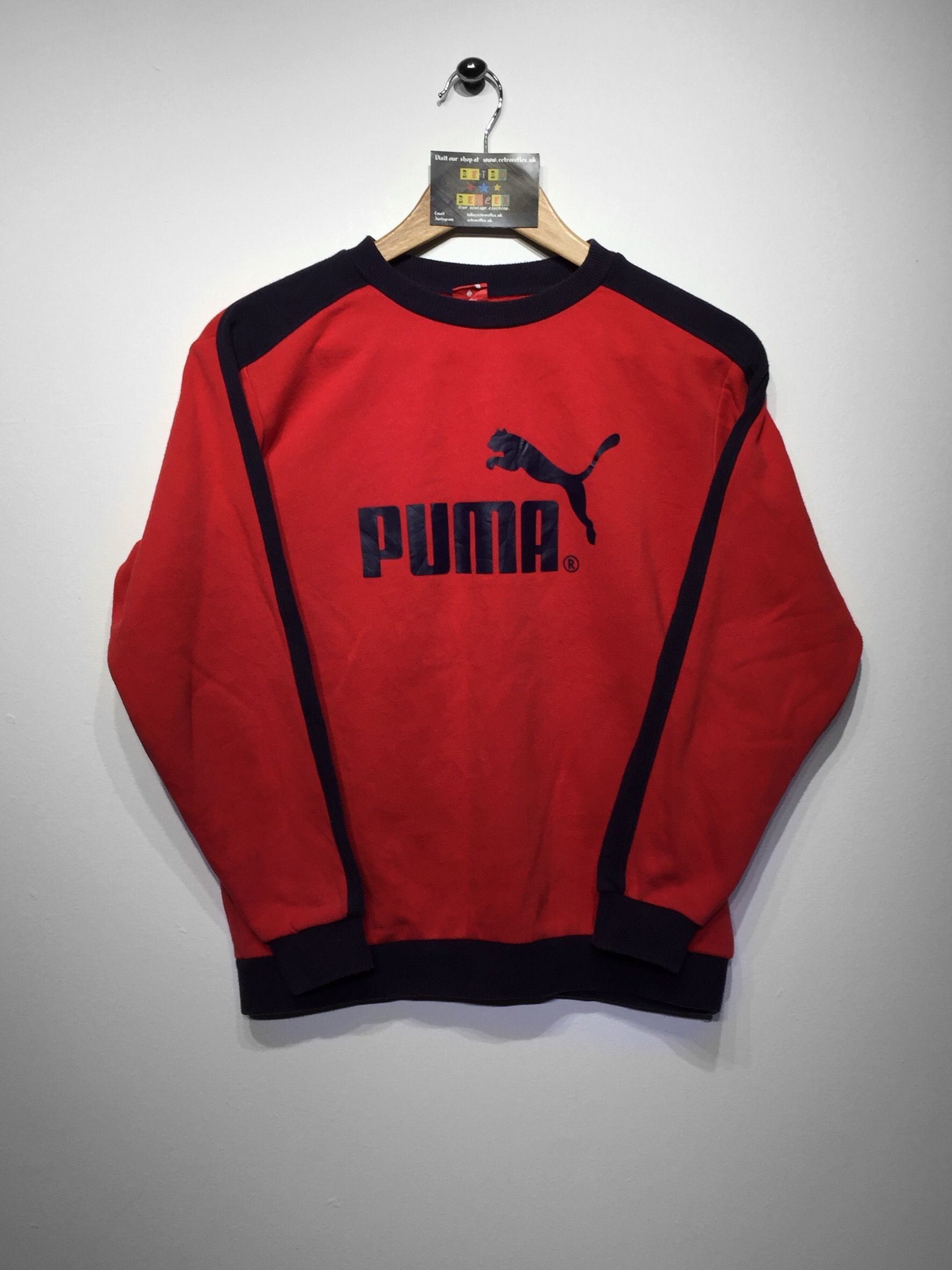a5883f3df05e0a Puma sweatshirt size X Small £34 Website➡ www.retroreflex.uk ...