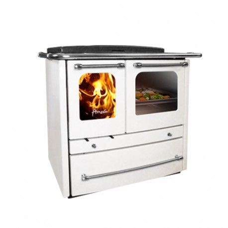 Cocina a le a amesti sovrana bianca cocinas y comedores for Combustion lenta amesti