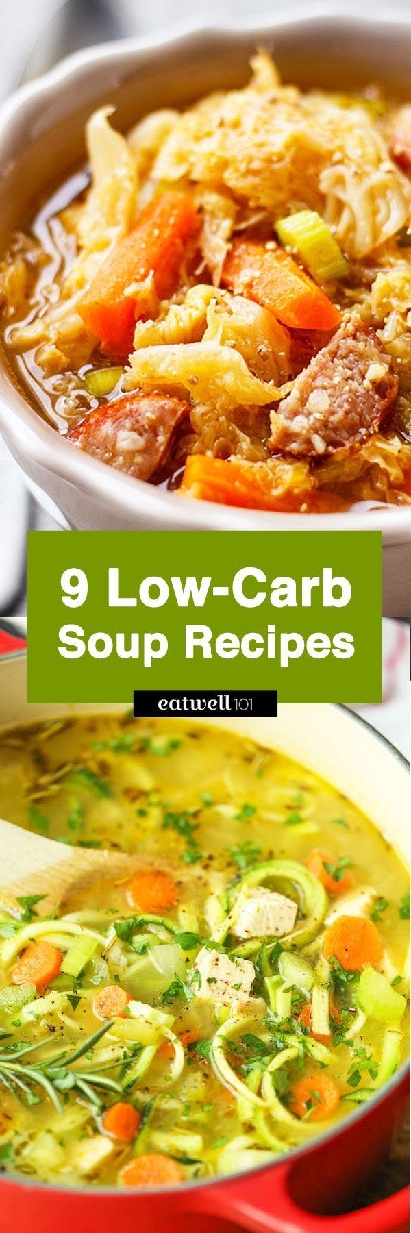 Stay Warm And Full Of Energy With These 9 Low Carb Soups Gluten Free Low Carb Soup Recipes