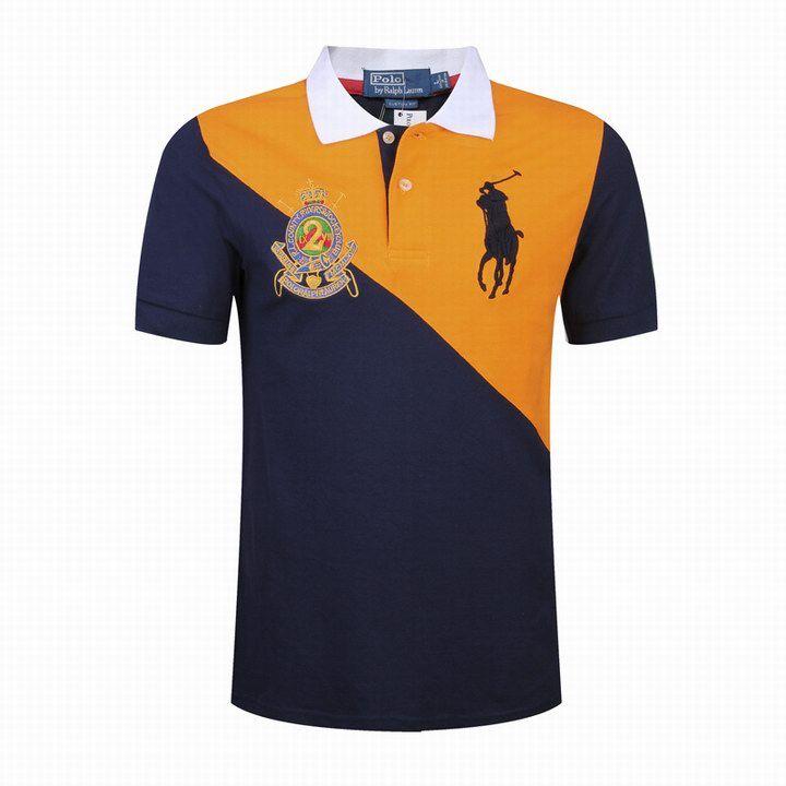 Cheap Polo Twill RL Counter Riders Jockey Club Orange-Navy For Sale